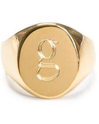 Sarah Chloe - 18k Gold Lana Pinky Ring, Size 3 - Lyst
