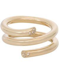 Ariel Gordon - Pavé Spring Ring - Lyst