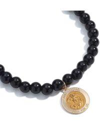 Sheryl Lowe 8mm Malachite & Diamond Bar Bracelet qJLglS85