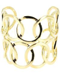 Philippe Audibert - Double Colombus Gold Cuff Bracelet - Lyst