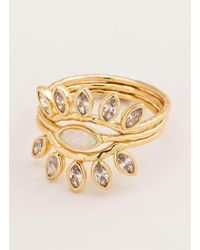 Gorjana & Griffin - Rumi Burst Ring Set - Lyst