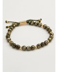 Gorjana & Griffin - Power Gemstone Pyrite Beaded Bracelet For Strength - Lyst