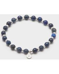 Gorjana Power Gemstone Elastic Bracelet For Wisdom