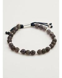 Gorjana & Griffin - Power Gemstone Iolite Beaded Bracelet For Focus - Lyst