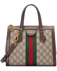 Gucci - Ophidia Small Gg Tote Bag - Lyst