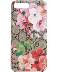 Gucci - Étui pour iPhone 8 Plus GG Blooms - Lyst