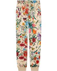 Gucci - Pantalon de survêtement en jersey imprimé - Lyst