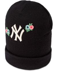 Gucci - Gorro de Lana Bordado New York YankeesTM - Lyst 9e6e1cd56d5