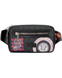Gucci - Night Courrier Soft Gg Supreme Belt Bag - Lyst