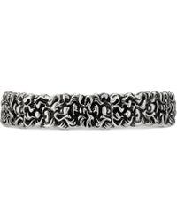 Gucci - Bracelet-manchette crinière de lion avec un cristal - Lyst f145db54e4a
