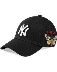 Gucci New York YankeesTM Baseballkappe - Schwarz