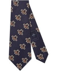 Gucci - Bees Pattern Silk Tie - Lyst