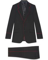 Gucci - Esmoquin Heritage con Ribete - Lyst