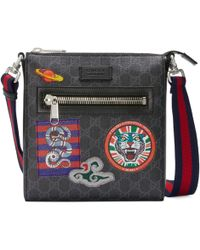 Gucci - Borsa a tracolla Night Courrier in GG - Lyst