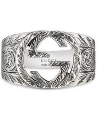 Gucci - Interlocking G Ring - Lyst