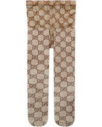 Gucci - Collants à motif GG - Lyst