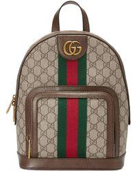 a337954e6 Gucci - Mochila Ophidia Pequeña con GG - Lyst