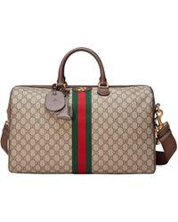 Gucci - Borsa da viaggio Ophidia in GG media - Lyst