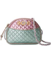 Gucci - Laminated Leather Mini Bag - Lyst
