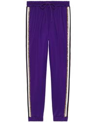 Gucci - Technical Jersey Jogging Pant - Lyst