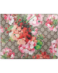 Gucci - Trousse à maquillage grand format GG Blooms - Lyst