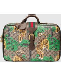 Gucci - Bengal Gg Supreme Suitcase - Lyst