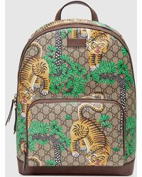 Gucci - Bengal GG Supreme Canvas Backpack - Lyst