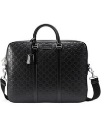 c9313931754f Men's Gucci Briefcases and work bags - Lyst