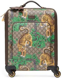 Gucci - Bengal Gg Supreme Carry-on - Lyst