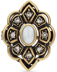 Gucci - Ring With Swarovski Crystals - Lyst