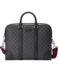 Gucci - Aktentasche aus GG Supreme - Lyst