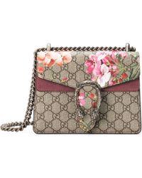 Gucci - Mini borsa Dionysus con stampa Blooms - Lyst