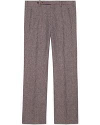 Gucci - Pantalón de Lana - Lyst