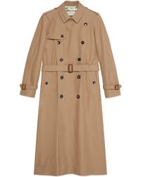 Gucci - Chateau Marmont-Trenchcoat aus Gabardine - Lyst