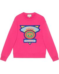 Gucci - Sweatshirt With '80s Patch - Lyst
