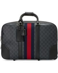 c8ce14dea499 Gucci - Soft GG Supreme Carry-on Duffle With Wheels - Lyst