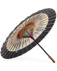 Gucci - Moths Print Chinese Umbrella - Lyst