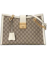 bf8140bb0ef2 Gucci - Padlock GG Medium Shoulder Bag - Lyst