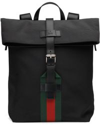 Gucci - Techno Canvas Backpack - Lyst