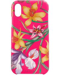 Gucci - Iphone X/xs Case With Flora Print - Lyst