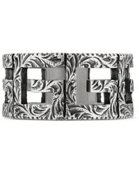 Gucci - Square G Ring aus Silber - Lyst