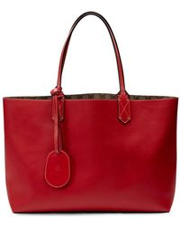 Gucci - Reversible Gg Leather Tote - Lyst