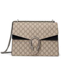 a895ed83ee8 Lyst - Gucci Dionysus Suede Shoulder Bag in Brown