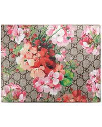 Gucci | Gg Blooms Large Cosmetic Case | Lyst