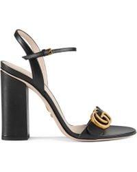 Gucci - Sandales à bride - Lyst