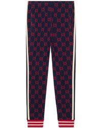 Gucci - Pantalon de jogging jacquard GG - Lyst