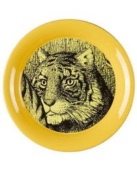 Gucci | Tiger Round Small Metal Tray | Lyst