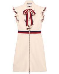 06290a1e543 Gucci - Robe en jersey stretch bande Web Sylvie - Lyst