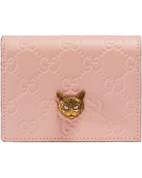 23c09f587e85 Gucci Beige Gg Supreme Angry Cat Laptop Case in Natural - Lyst