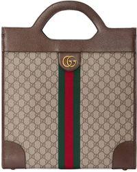 Gucci - Borsa a mano Ophidia in GG media - Lyst 6eb4880e3f2